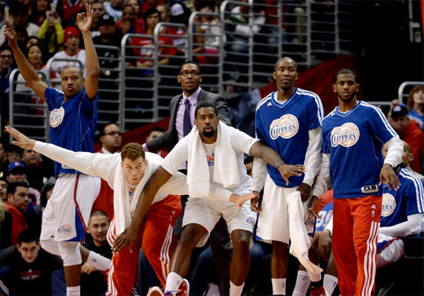 Clippers-Bench